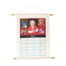 Kalender met ophanging