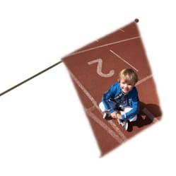 Kleine hand-vlag